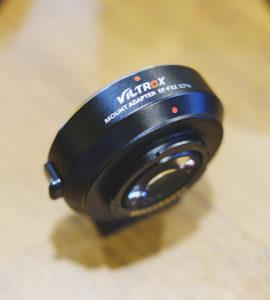 viltrox mount adapter ef-fx2 0.71x